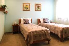 Divvietīga istaba ar vienu vai divām gultām